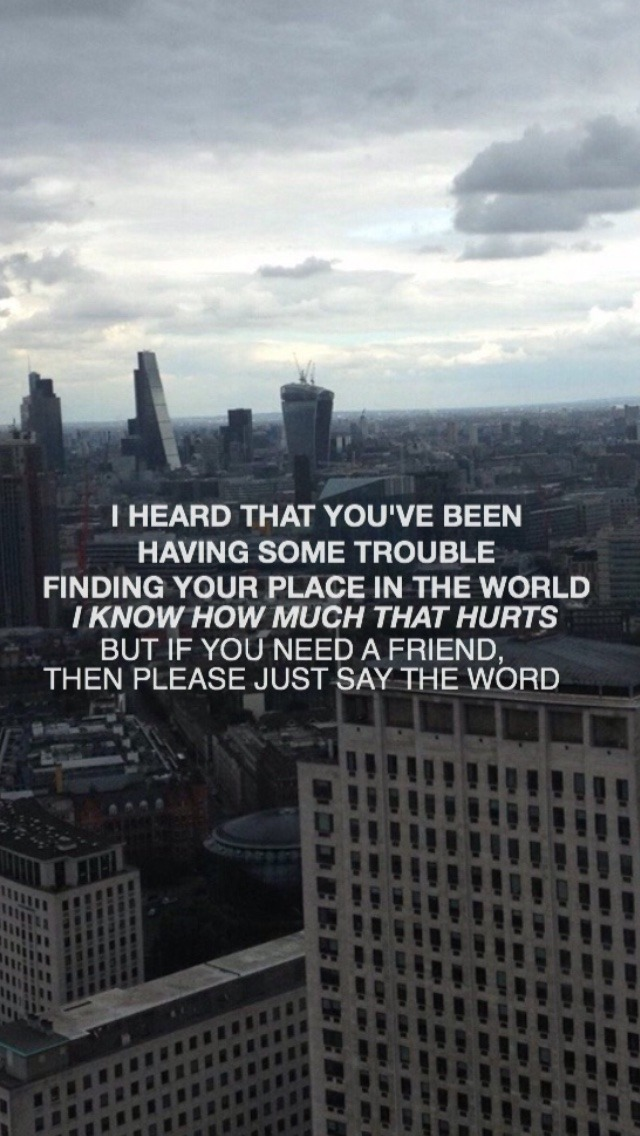 Jack Barakat Quotes Wallpaper Music Lyrics Request All Time Low Wallpaper Missing You