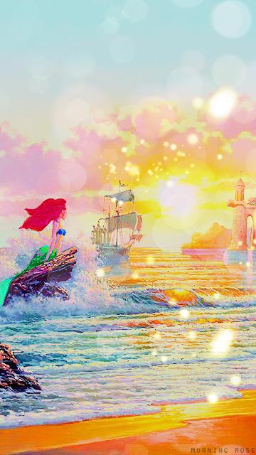 The Little Mermaid Quote Iphone Wallpaper Peter Pan Iphone Wallpaper Tumblr