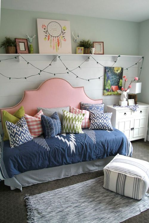 I love these COLORS for bedroom!! Itu0027s cozy, grown-up, laid-back