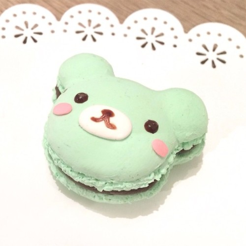 Cute Wallpaper Rilakkuma Bear Macaroon Tumblr