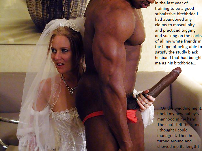Wedding night cuckold fantasies captions