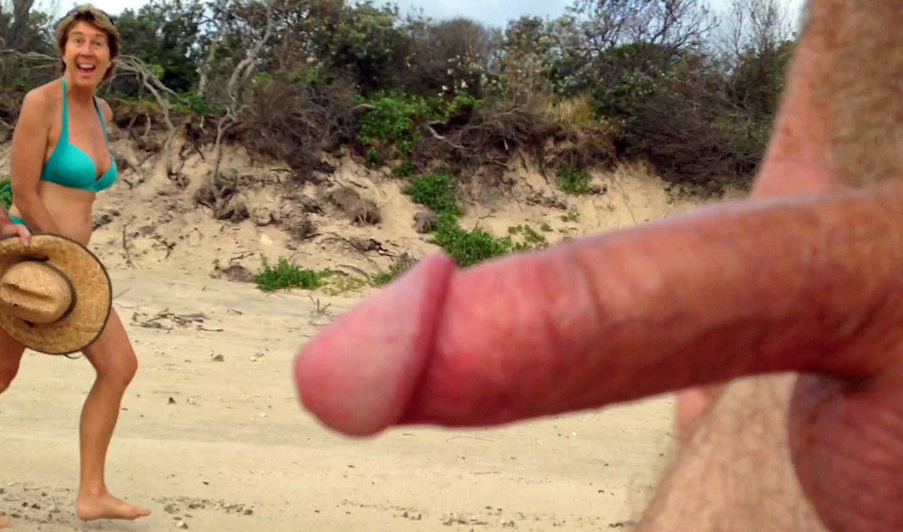 nude beach girls give erections