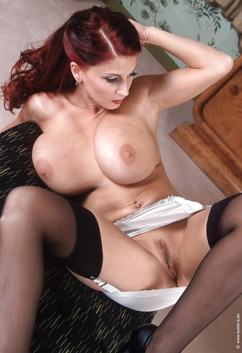 Big boobs oiled babe fucked hard 10