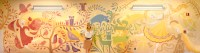 The Art of Tangled  claireonacloud: Rapunzels mural I ...
