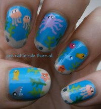 onenailtorulethemall: Under the sea nails! | fuck yeah ...