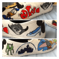 arts and crafts and nail art  (These are the Disney ...