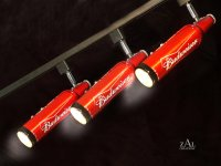 Blu3RSX  Beer bottles Track Lighting Fixture. 3 Track...