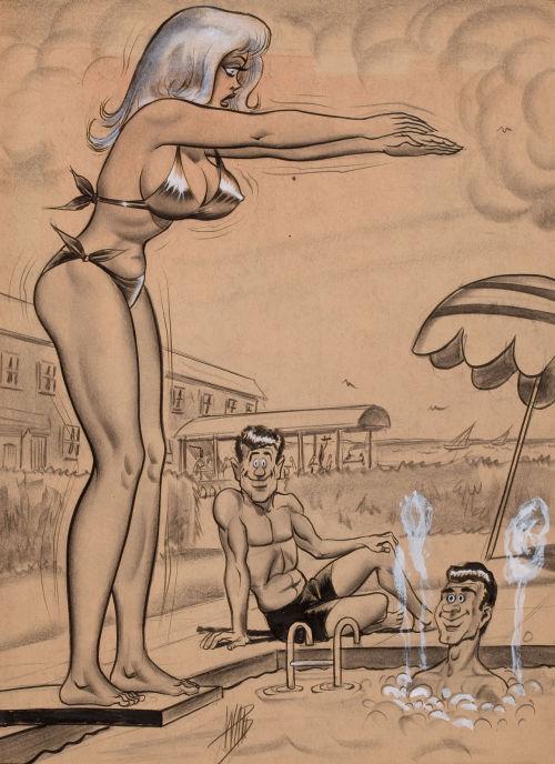 bill ward adult cartoon art