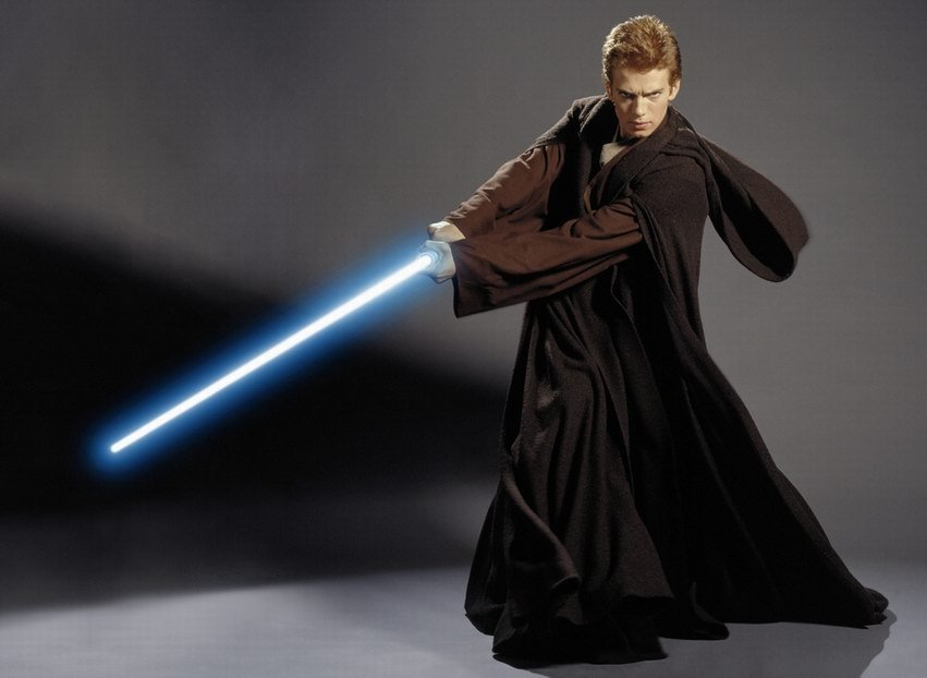 Anakin Skywalker Jedi Elegance Redefined • Anakin Skywalker's First Lightsaber