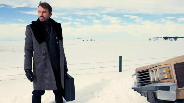 Billy Bob Thornton als Bösewicht Lorne Malvo in Fargo - Staffel 1