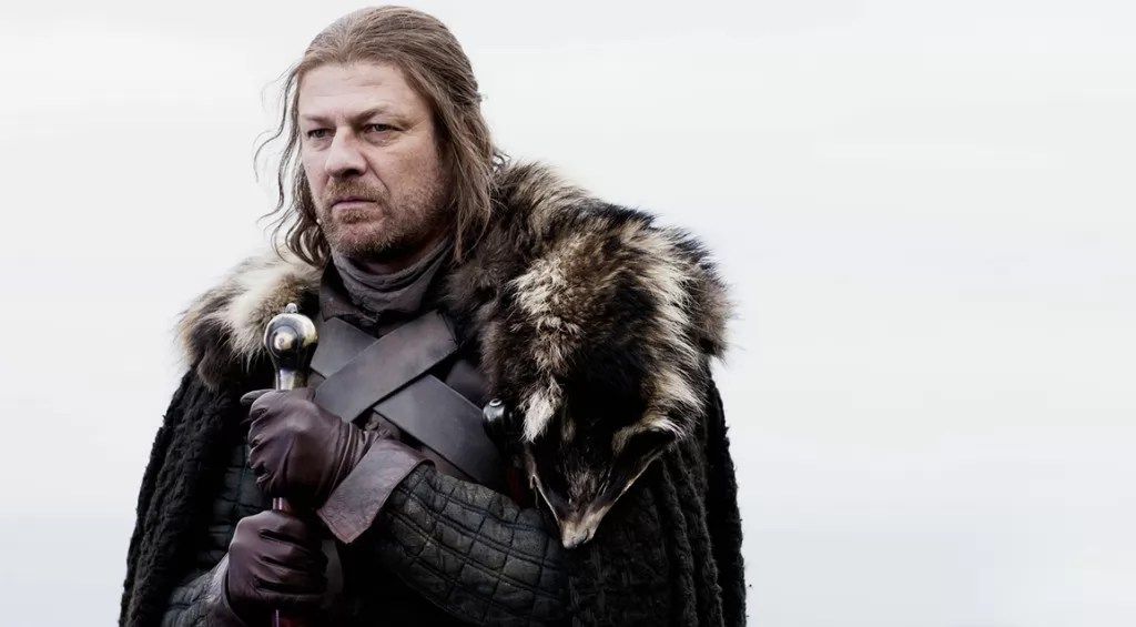 Sean Bean als Ned Stark in Game of Thrones Staffel 1