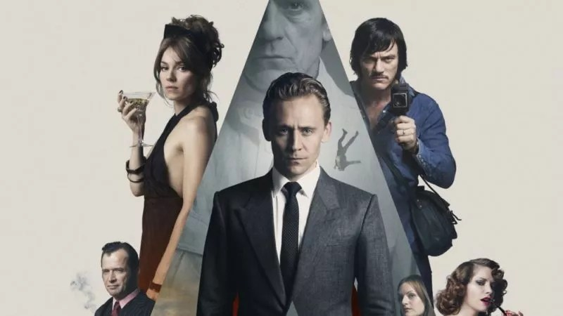 Wallpaper von High-Rise mit Tom Hiddleston und Luke Evans und