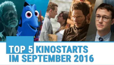 Top Kinofilme September 2016
