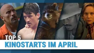 Titelbild zu Top 5 Kinostarts im April 2017 mit den Filmen Bleed For This, The Birth Of A Nation, Free Fire, Fast & Furious 8, Guardians Of The Galaxy Vol. 2