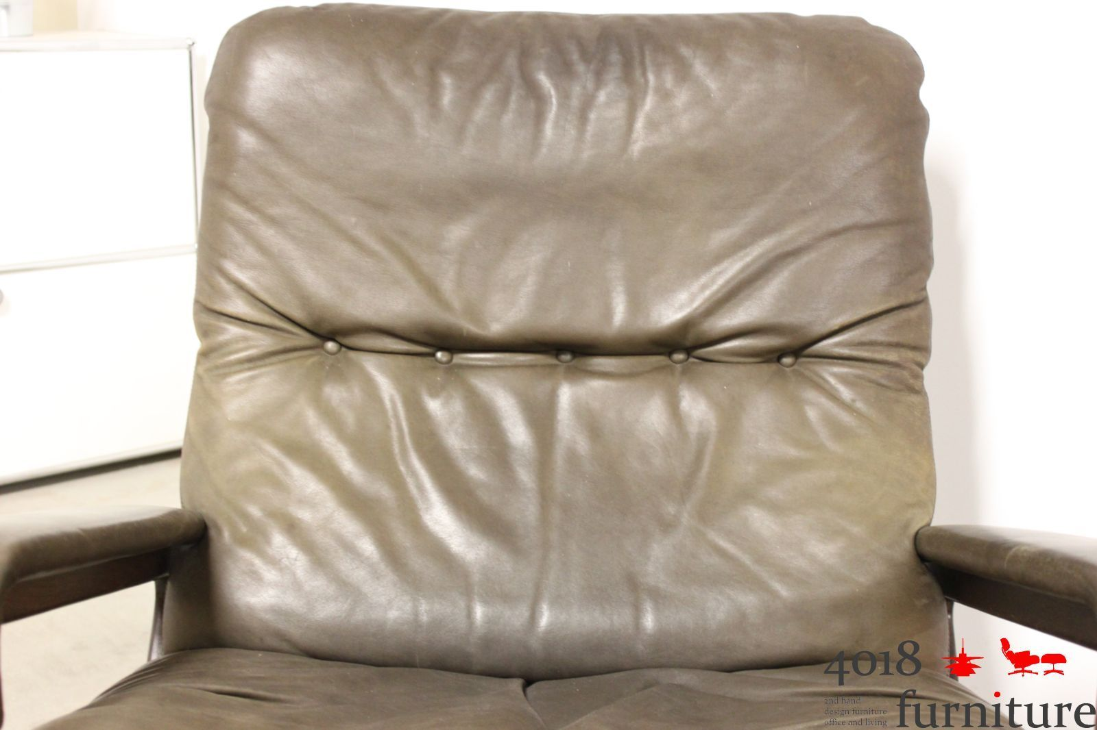 King Chair Sessel Strässle King Chair King Pouf Andre Vandenbreuck Lounge Sessel