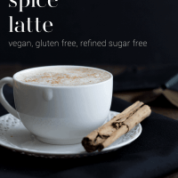 Vegan Pumpkin Spice Latte