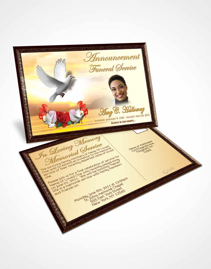 Funeral announcement template free cv01billybullockus
