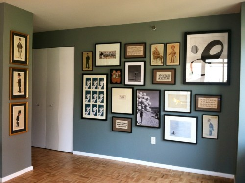 Medium Of Photo Wall Ideas