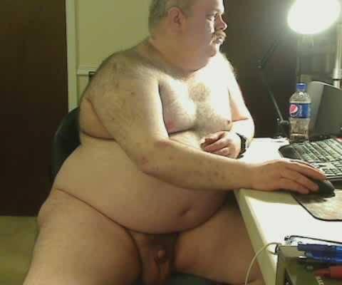naked gay grandpa