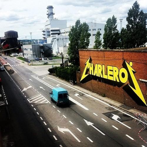belgiumgraffiti:  CHARLEROI > @drcolors#belgiumgraffiti #drcolors #graff #graffiti #art #streetart