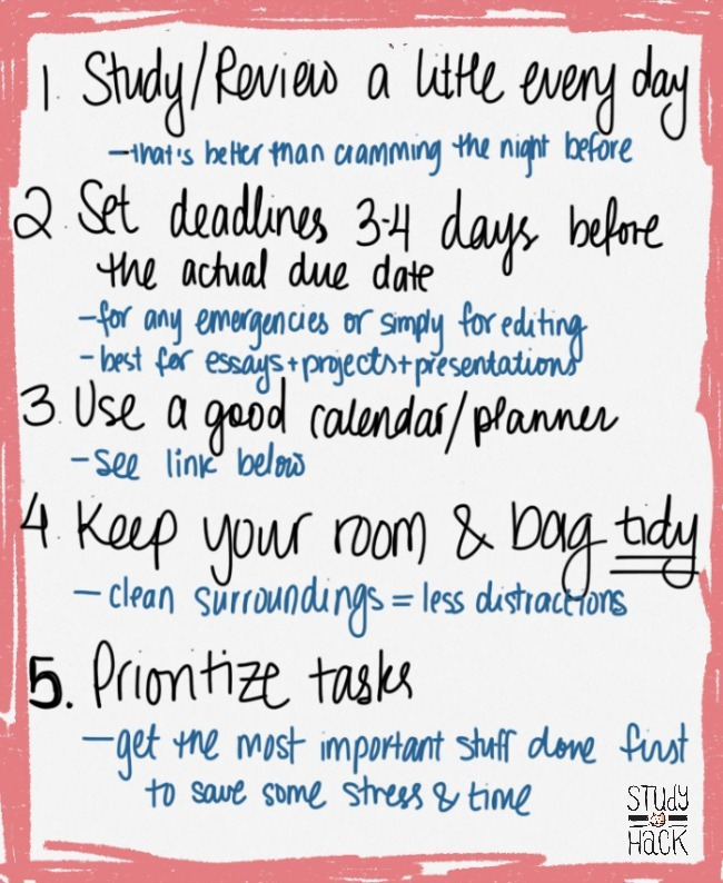 college school studying organization STUDY TIPS students planners - college planner organization