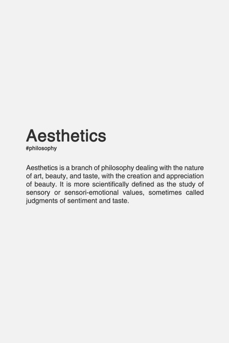 Cool words minimal simple clean aestheitcs userdeck \u2022