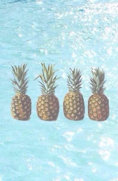 pineapple wallpaper on Tumblr