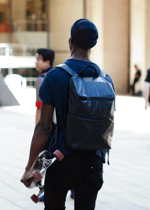 Leather rucksack.Similar look: Vivienne Westwood Leather Rucksack.