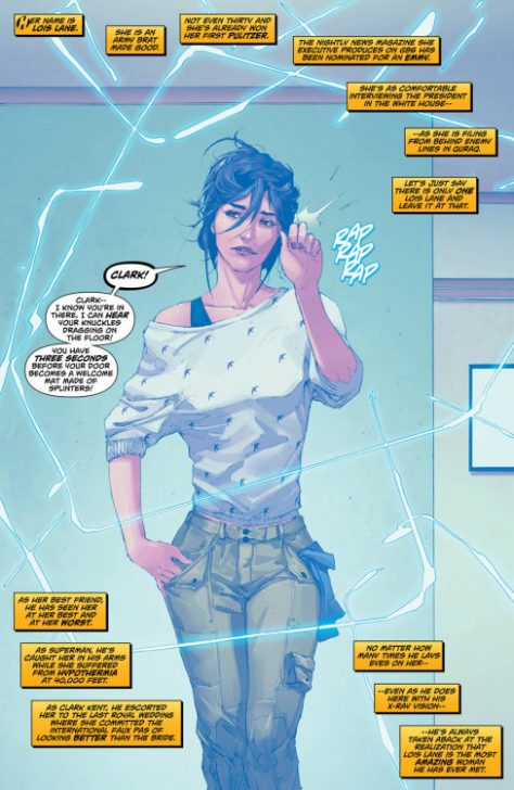famousfanboy: Lois Lane, Superman #14 (2012), Kenneth Rocafort.This is literally the best picture of Lois Lane I've ever seen.
