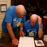 Rich Ziebart and Larry Gilmer (417th NFS & Brother-in Law)