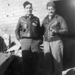 Gonzales with Lt. Joe Van Laecken, RO.