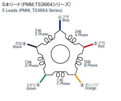 5 wire motor diagram