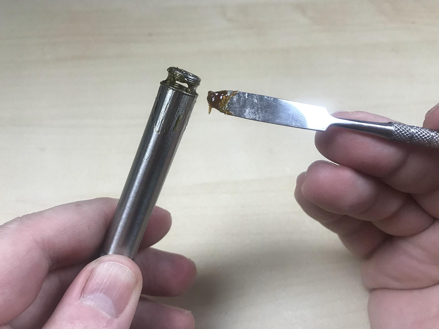 Harvesting reclaim from Boundless Terp Pen