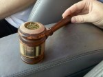 homemade gavel pipe