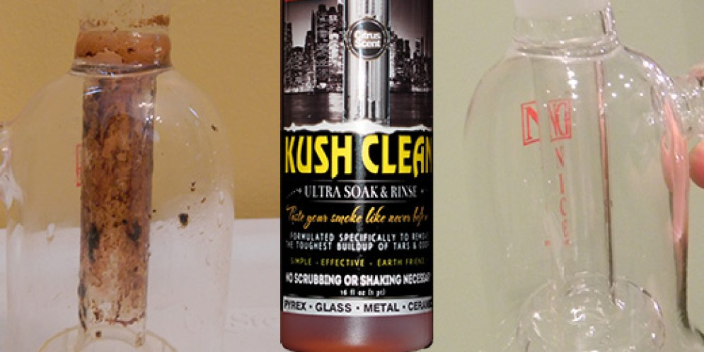 Kush Clean Review – a glass cleaner for your bong