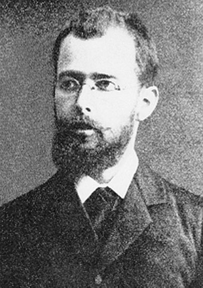 Friedrich Kluge, a man with a shining mind and a clear vision of word origins.