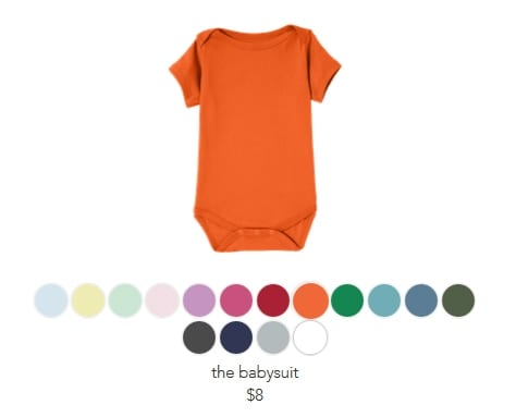 Freaking simple kid and baby clothes Finally - Rookie Moms - onesies designs