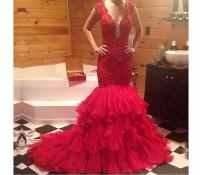 Maroon Prom Dress Mermaid | www.imgkid.com - The Image Kid ...