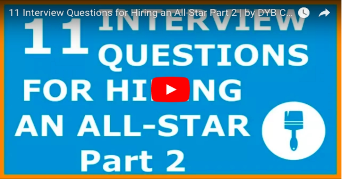 Painting Contractor 11 Interview Questions for Hiring an All-Star