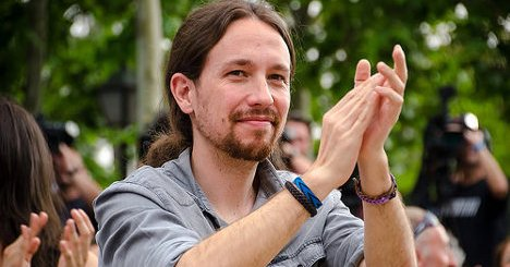 Pablo Iglesias. Foto: Vistillas@FelixMoreno-15 via photopin (license)