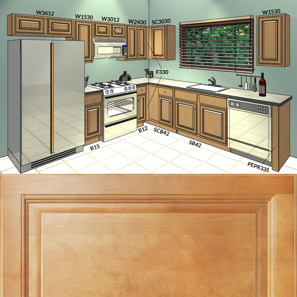 3d design 10x10 kitchen