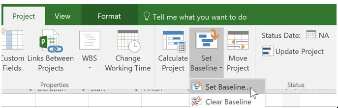 5 Things to Know about Microsoft Project Baselines MPUG