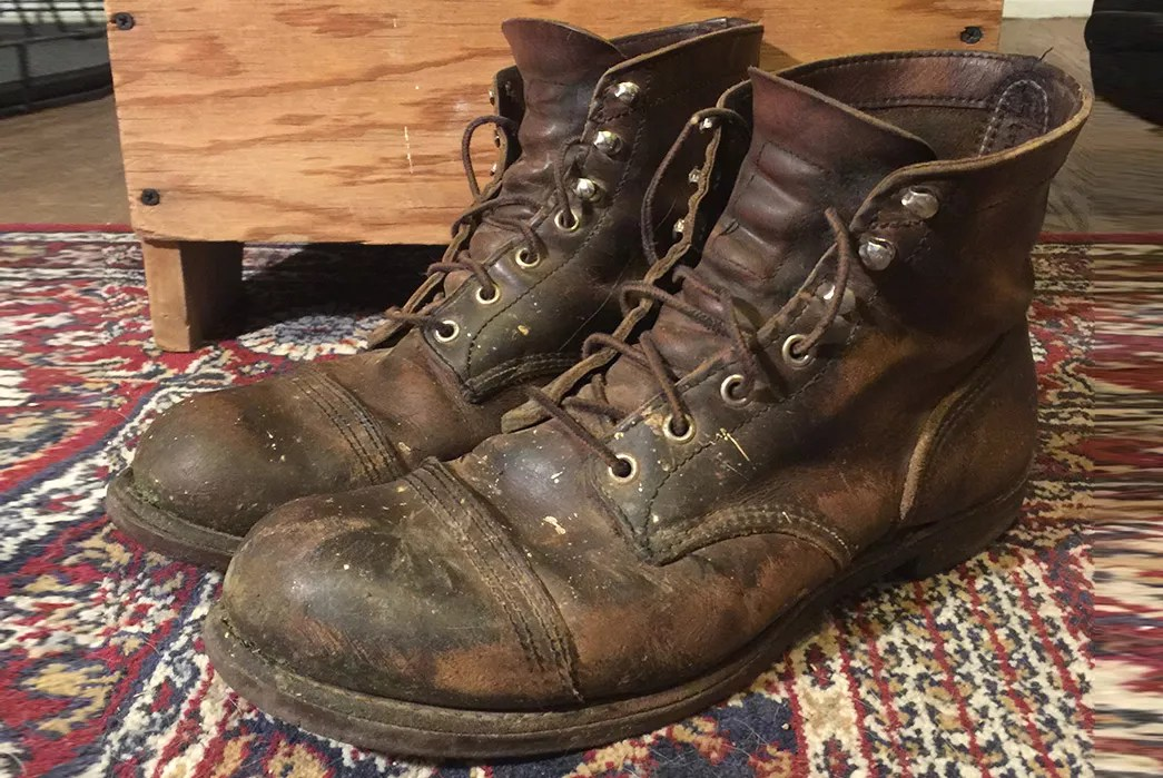 Red Wing 8111 Iron Ranger 65 Years Fade Of The Day