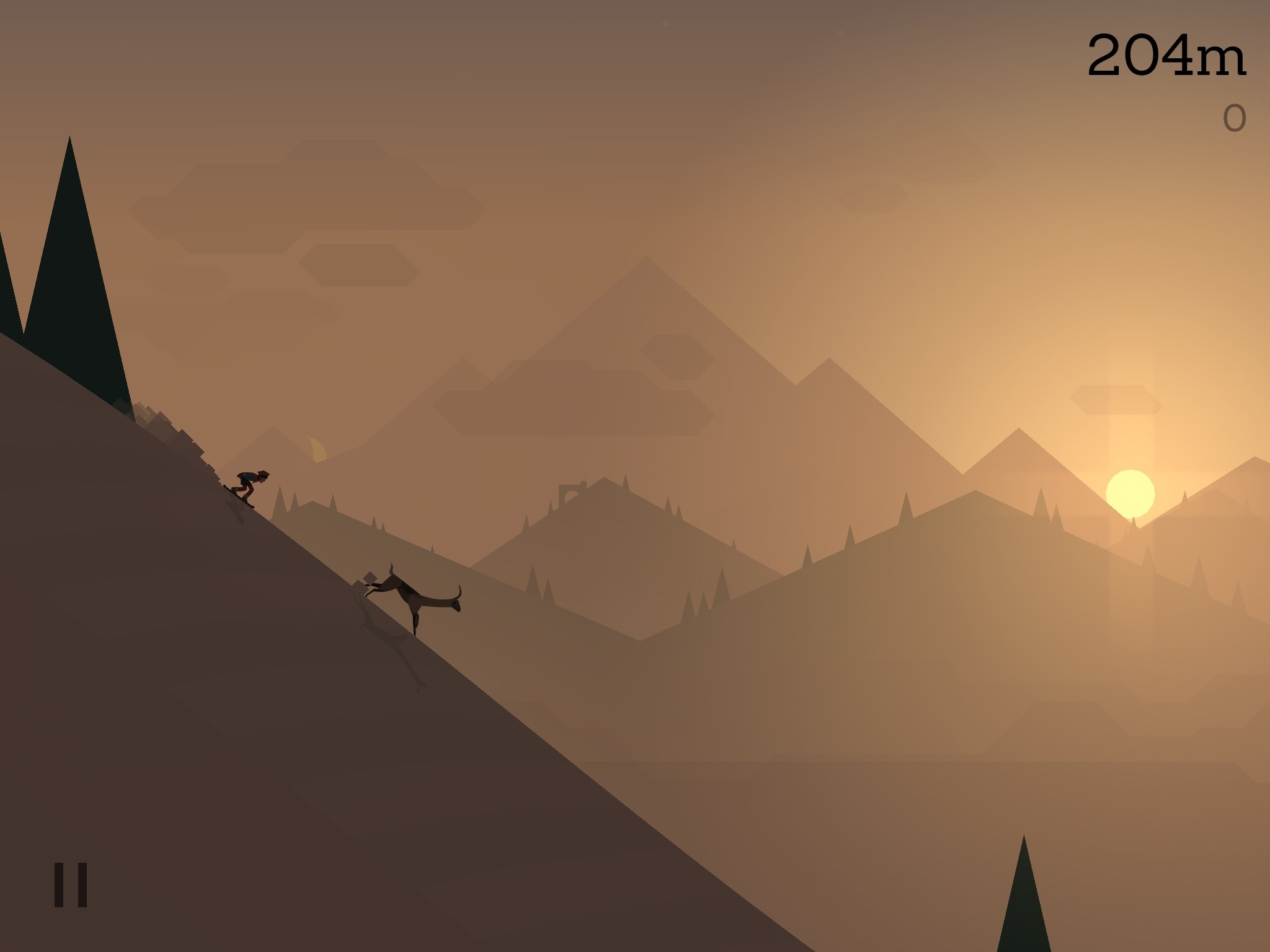 Sad Animation Wallpaper Alto S Adventure Review A Beautiful Descent Macstories