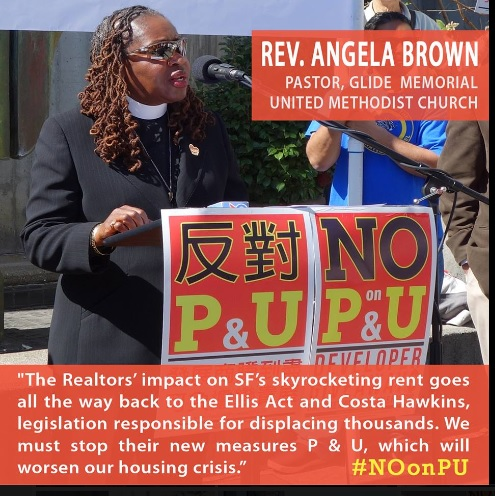 The faith-based community joined with tenant groups to defeat the realtor measures