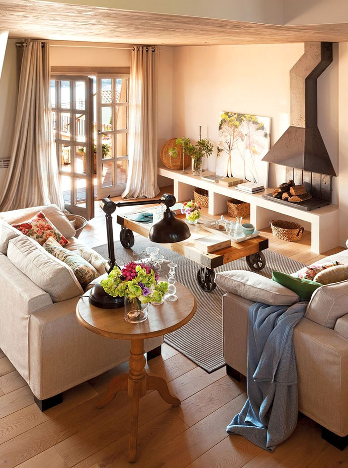 Salones Con Comedor Warm And Cozy Spanish Interior With Beautiful Outside View