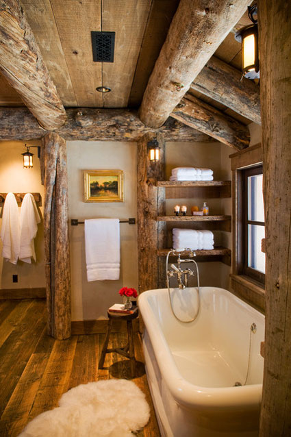 Elegant Coffee Tables 30 Warm And Cozy Log Bathroom Design Ideas