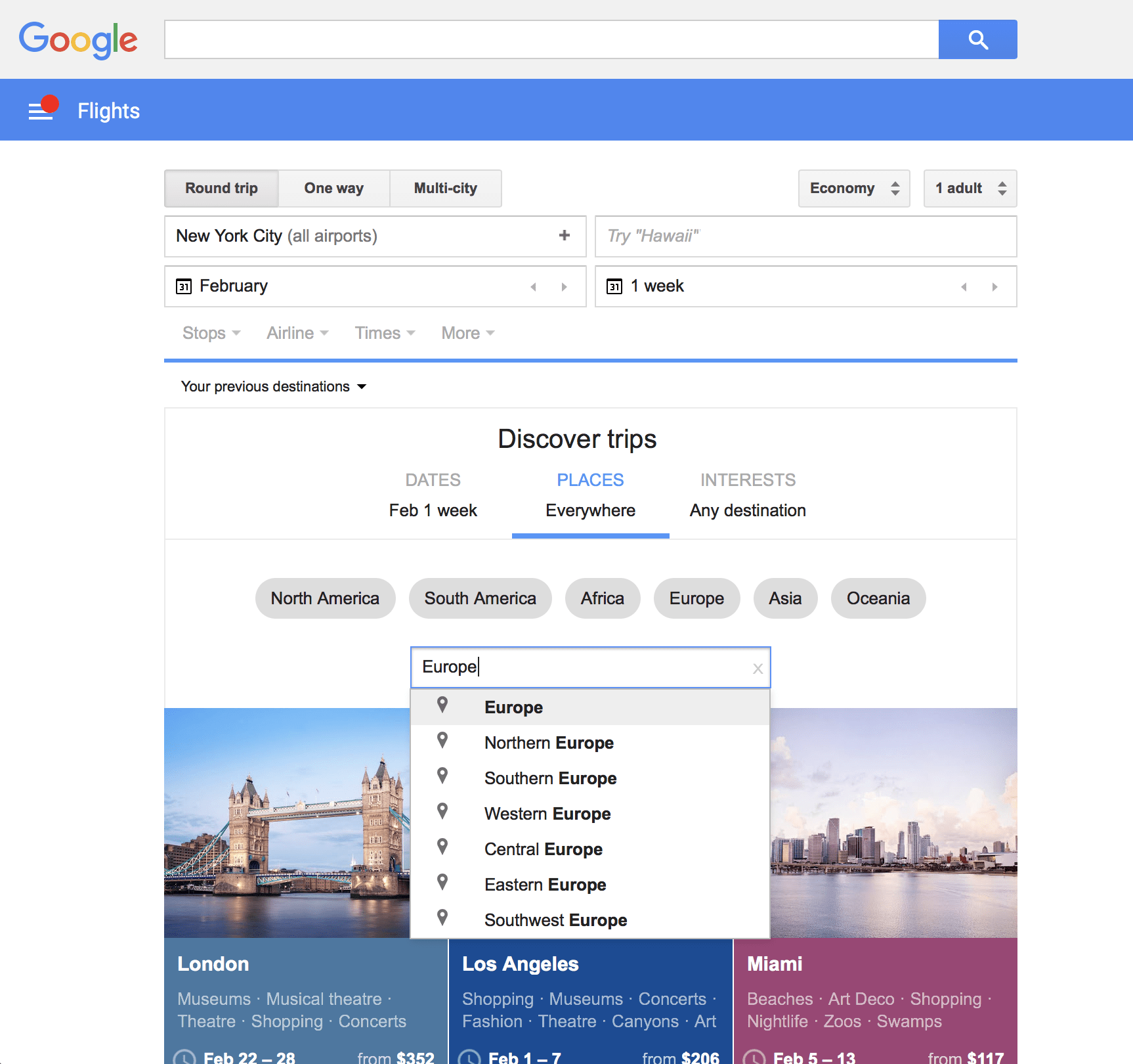 Google Flights How To Use Google Flights To Track Find Cheap Prices 2019