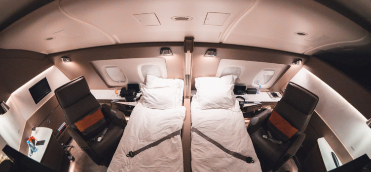 Singapore Airways Airbus A380 New First Class Suites Amazing Pics