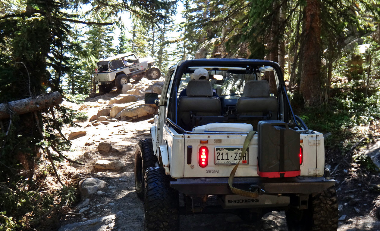 Jeep Trails Top 10 Most Popular Colorado Off Roading Trails Big Bear Engine